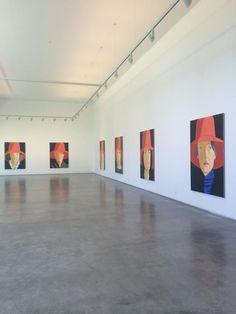 Alex Katz Artist Portrait Paintings Exhibition Galeria Javier Lopez Madrid Spain