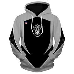dfed5397c3a New Design NFL Football Oakland Raiders 3D Hoodie Sweatshirt Custom Ja – 4  Fan Shop Raiders