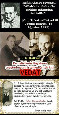 CHP , CHP zihniyeti , chpkk Islam, History, Quotes, Life, Europe, Golden Horde, Politics, Pictures, Quotations