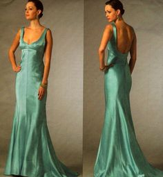 Vogue V2964 Tom and Linda Platt Evening Gown Formal by sandmarg, $19.99 -- This would be gorgeous in a slightly deep red fabric!!!