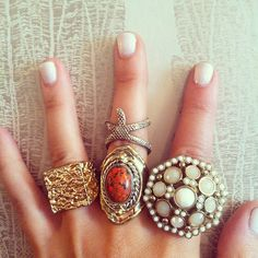 Shop our rings! #bohemian #boho #jewelry #today