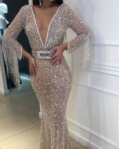 2019 Silver Prom Dresses Long, Sparkly Prom Dresses Modest This 2019 silver prom dresses long is on hot sale ! Design your own prom dress, bridesmaid dress, wedding gown to keep harmony. The best custom-made dresses online! Affordable Prom Dresses, Cheap Prom Dresses, Modest Dresses, Elegant Dresses, Sexy Dresses, Summer Dresses, Winter Dresses, Formal Dresses, Bling Prom Dresses