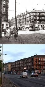 Glasgow Punter: Maryhill is Wonderful (Walking Through Maryhill With Some Old Photos as a Guide) Old Pictures, Old Photos, George Cross, Glasgow City, Best Pubs, Glasgow Scotland, Great Western, Saint George, Castle