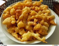 Kfc, Cauliflower, Macaroni And Cheese, Good Food, Fun Food, Food And Drink, Cooking Recipes, Bread, Snacks