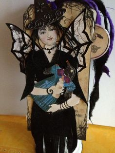 Halloween Tag Swap Oct 2013 by Susan Whittemore