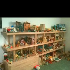 Some of my Fisher Price Little People collection.
