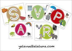 Teacher Tools, 4 Years, Montessori, Playing Cards, Games, Blog, Ideas, Alphabet, Beginning Sounds