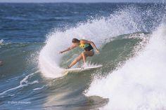 Stephanie Gilmore. Perpetually perfect.  #australia #goldcoast #visitgoldcoast #snapper #snapperrocks #coolangatta # #greenmount #kirra #surfing #surf #barrel #wave #waves #duranbah #discoverqueensland by chrismeimaris