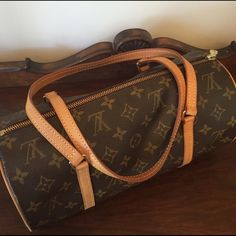 """HOST PICK Authentic Louis Vuitton Papillon 30 Endearing and classic- this authentic bag is a LV lover's fav because of it's cute and quirky style. Excellent condition with no watermarks, rips, or stains. Light pale honey patina that is beautiful and coveted. Amazingly roomy considering its cylindrical shape. 12x6x6"""" with an 8"""" handle drop. Lovingly cared for and ready for a new home now that hubby bought me the LV Totally. LIKE THIS LISTING FOR NOTIFICATIONS! ❤️❤️❤️ Louis Vuitton Bags Totes"""