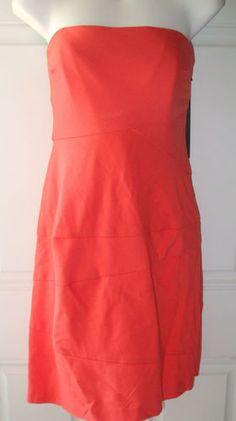 Cynthia Steffe Coral Side Zip Dress