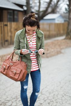 ONE little MOMMA: Sailor Stripes and Spring Shopping