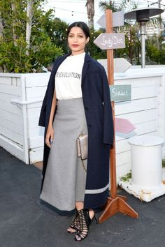Celebrities attend the Dior Resort Collection 2018 in Malibu.