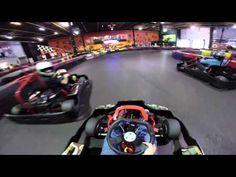 Super Fast Indoor Go Kart Racing - YouTube