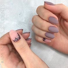Matte Mauve Nail Designs Sharp Peaks ❤️ Great mauve color nails for the creation of beautiful manicures. It is time you combine dusty rose and purple shades into single nail art! Casual Nails, Trendy Nails, Uñas Diy, Matte Nail Polish, Modern Nails, Nail Art, Nagel Gel, Perfect Nails, Nails Inspiration