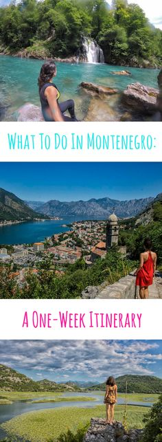 A one-week itinerary for Montenegro - visiting Montnengro's best spots over a week!