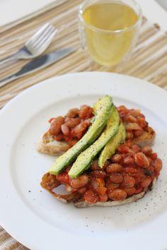 5-Minute #Vegan Baked Beans. #GlutenFree #SoyFree