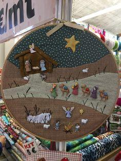 Christmas Banners, Christmas Nativity, Christmas Star, Victorian Christmas, Christmas Stockings, Christmas Decorations, Christmas Ornaments, Christmas Patchwork, Christmas Sewing
