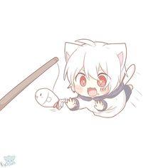 Neko Boy, Chibi, Another Anime, Asian Art, Vocaloid, Rain, Fandoms, Icons, Cool Stuff