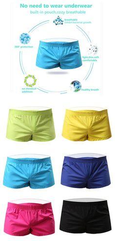 ea8f46941d56 Arrow Pants Casual Sexy Home Low Waist Cotton Inside Pouch Breathable Boxers  for Men. Newchic Official · NC* Men's Underwear