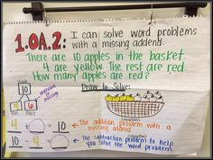 First Grade Fairytales: Missing Addends, Word Problems & a FREEBIE!