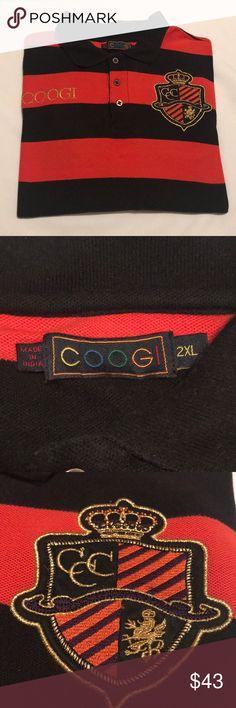 COOGI POLO Very clean Coogi Polo. No damage, no rips, no stains.  visit closet for more great deals. COOGI Shirts Polos