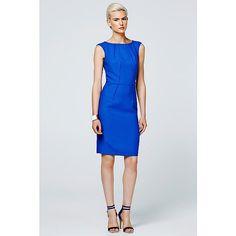Steps jurk kobalt