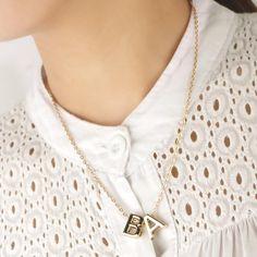 Letter Pendant Necklace, Initial Necklace Gold, Letter Pendants, Chain Pendants, Name Necklace, Pendant Jewelry, Chain Necklaces, Fashion Bracelets, Fashion Necklace