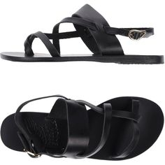 70802f09b8482f Ancient Greek Sandals Toe Post Sandal (550 HKD) ❤ liked on Polyvore  featuring shoes