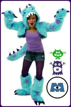 Teen Sully Costume