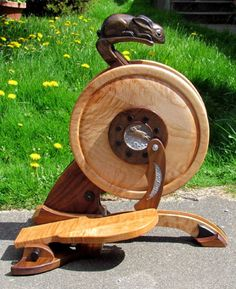 how to build a spinning wheel flyer