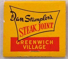 Dan Stampler's Steak Joint Greenwich Village