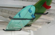 surfboard ceiling rack - Google Search