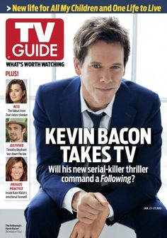 THE FOLLOWING - 2013 - TV GUIDE