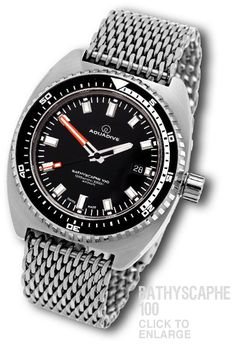 AQUADIVE BATHYSCAPHE 100 STAINLESS STEEL http://www.aquadive.com/Bathyscaphe_100_SS_diver.html