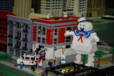 The Lego Ghostbusters Scene