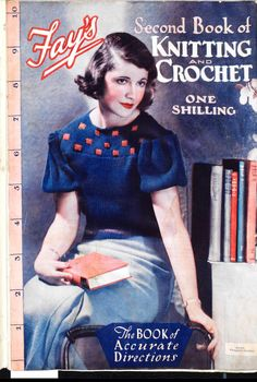 Free Vintage Knitting Patterns – Tops from 1935 (Fay's Second Book of Knitti. - - Free Vintage Knitting Patterns – Tops from 1935 (Fay's Second Book of Knitting and Crochet) – The Sunny Stitcher Source by gabiverzuu Vintage Crochet Patterns, Vintage Knitting, Knitting Patterns Free, Knit Patterns, Free Knitting, Sewing Patterns, Knitting Tutorials, Loom Knitting, Knitting Ideas