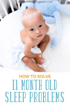 Have an 11 month old waking up at night? A sleep regression is a likely culprit for any 11 month old sleep problems. Here's what you need to know and do, including gentle methods to sleep train your child and get him or her back to sleep quickly. 11 Month Old Schedule, Baby Schedule, Sleep Schedule, Crying It Out Method, Cry It Out, Toddler Sleep, Baby Sleep, 11 Month Sleep Regression, 11 Month Old Baby