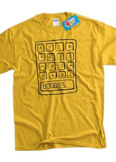 Funny Geek TShirt  Boobies Geek Kids School Nerd by IceCreamTees, $14.99