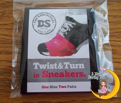 """""""Do you #Zumba? It is probably one of my favorite ways #workouts! The one frustration I have had is when my shoes with the rubber soles get stuck on the floor. That really disrupts the flow and the movement of the dance. These DanceSocks allow you to spin, slide, and glide without getting stuck on the floor."""" - A Mom Having Fun"""