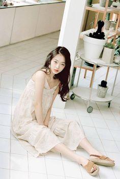 baby blue — binnie:   Krystal for Nylon (2015) & Sulli for...