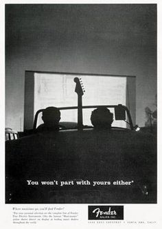 Fender ArteHouse - You Won't Part With Yours Either : Posters and Framed Art Prints Available