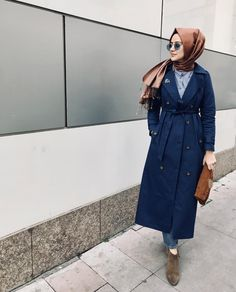 IG: aybukenurdemirci Modern Hijab Fashion, Street Hijab Fashion, Islamic Fashion, Abaya Fashion, Muslim Fashion, Modest Fashion, Hijab Outfit, Hijab Skirt, Hijab Style Dress