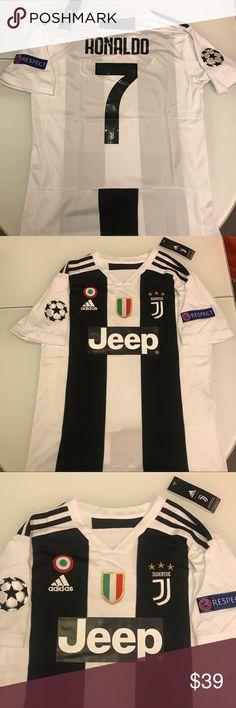 d8e670185 Brand new Juventus jersey CR7 size M Juventus jersey Bianco Nero Cristiano  Ronaldo  7 Features