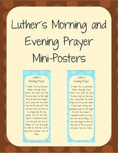 Lutheran Prayer Book: For the Use of Families and ... |Lutheran Invocation