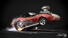 Tottarie - American muscle no. 3 - Corvette
