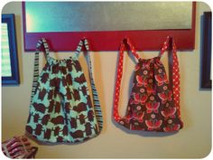 The Little Fabric Blog: Backpack in a Cinch! Free tutorial!!!