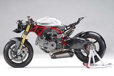 Pierobon Ducati 1199 Panigale Streetfighter by Krax Moto - Asphalt & Rubber