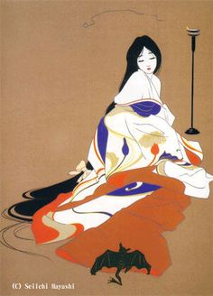 Kai Fine Art is an art website, shows painting and illustration works all over the world. Japanese Art Prints, Japanese Art Modern, Japanese Drawings, Japanese Artwork, Japanese Painting, Japanese Toys, Traditional Japanese, Geisha Art, Japanese Folklore