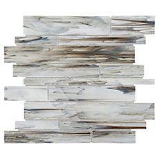 New Golden Valley Chevron Marble Mosaic Its Kitchen