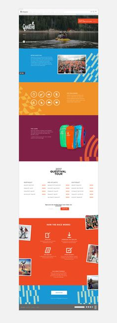 Cotopaxi Questival Branding - Hint Creative | Creative Agency & Design Studio Event Signage, Graphic Design Branding, Studio, Projects, Cabinets, Shop Displays, Log Projects, Blue Prints